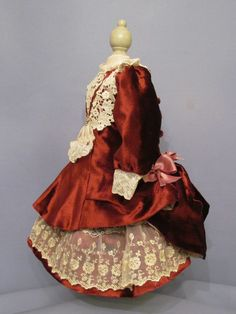 French Bebe promenade dress