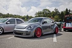 VW Beetle 2012- notice the porsche styling cues in the front bumper.