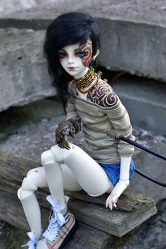 bjd -- I love this! I wish I knew what it was and who owned it D: