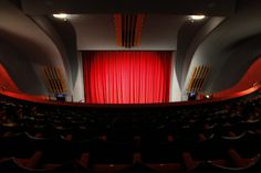 Inside the Rio Cinema, Dalston, London by Aaron Harcourt