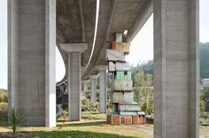 impossible architecture by architectural photographer filip dujardin, 2013 dujardin's photomontages are a collection of impossible structures created using a digital collaging technique from photographs of real buildings in and around ghent, belgium. Landscape Architecture, Architecture Design, World Best Photographer, Photography Words, Urban Photography, Architectural Photographers, Paris Photos, Brutalist, Best Photographers