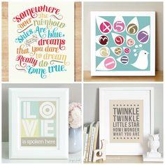 Fresh and Modern Artwork for Children and Home from SugarFresh ( Nursery Themes, Nursery Prints, Nursery Room, Girl Nursery, Girl Room, Nursery Decor, Nursery Ideas, Baby Olivia, Baby Chloe