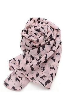 Pink https://sincerelysweetboutique.com/shop-collections/pink.html #pink #thinkPink #sincerelysweet - pink cat print scarf