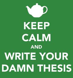 writing phd thesis engineering