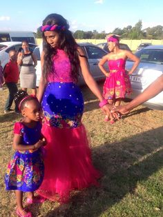 david tlale traditional dresses - Google Search