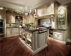 French Country Kitchen Cabinets Design Ideas - My Kitchen Interior Country Kitchen Cabinets, Country Kitchen Designs, Kitchen Cabinetry, Kitchen Decor, Kitchen Country, Kitchen Backsplash, Kitchen White, Backsplash Design, Kitchen Tables