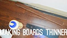 Twelve Time-Consuming Tasks When Installing Hardwoods Laying Wood Floors, Installing Hardwood Floors, Real Wood Floors, White Oak Floors, Wide Plank Flooring, Engineered Hardwood Flooring, Young House Love, Types Of Flooring, Building A Deck