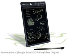 Boogie Board LCD Writing Tablet Original  Hoe leuk is dit!! De Boogie Board lijkt een eenvoudig krijtbordje maar is in werkelijkheid een slim ontworpen LCD tablet.
