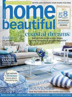 Beautiful Homes Magazine our gorgeous laura quilt cover set is featured in home beautiful