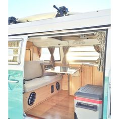 44 Super ideas for volkswagen campers van interior ideas road trips Volkswagen Transporter, T3 Vw, Vw Vanagon, Volkswagen Beetles, Volkswagen Golf, Kombi Trailer, Trailers, Vw Camper, Interior Kombi