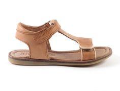 Bisgaard+70248-+48+sandalen++camel+(maat+26-38)