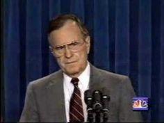 Operation Desert Storm: Bush Announces Ground War