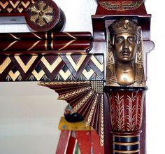 Dormitorios estilo egipcio