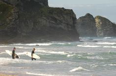 Stuck in the city? Check out the Watergate Bay webcam :-)  http://www.watergatebay.co.uk/watergatebaywebcam.htm