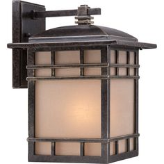 """View the Miseno MLIT0092C 12-1/2"""" Single-Light Outdoor Wall Sconce with Cream Lantern Shade at LightingDirect.com."""