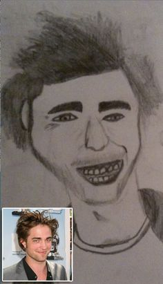 8 Amazingly Terrible Pieces of Fan Art: Hunks Edition Bad Fan Art, Bad Art, I Love To Laugh, Make You Smile, Fan Drawing, Dumb People, Celebrity Drawings, Cartoon Shows, Funny Facts