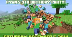 Here's a list of all the Free Minecraft Party Printables  offered:   Personalized Invitations        Minecraft Cup Cake Toppers / Sticker   ...