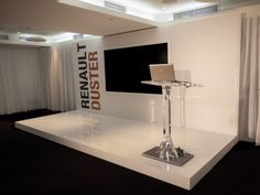 Escenario. Evento Renault, Hotel Me, Madrid. Dpieventos.