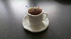 Kopje koffie  speldenkussen