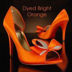 Image detail for -Orange Wedding Shoes »