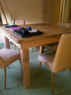 Mesas de Comedor o Living a medida y en cualquiera de las maderas que trabajamos. Tonalidades a elección. Consultanos!