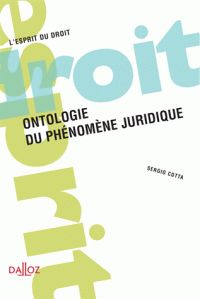 Ontologie du phénomène juridique