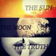 Resultat d'imatges de El sol,la luna y la verdad