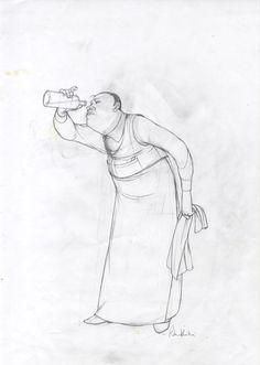 Rébecca Dautremer - Crayonné Verdun | Oeuvres | Galerie Robillard