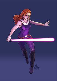 Mara Jade Skywalker, From the Star Wars expanded universe. Description from deviantart.com. I searched for this on bing.com/images