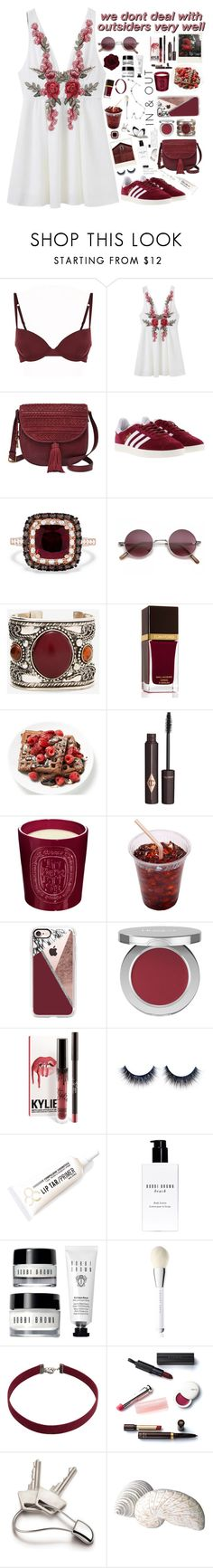 """OUT"" by miriamofficial5 ❤ liked on Polyvore featuring Elle Macpherson Body, FOSSIL, adidas, Effy Jewelry, Tom Ford, Charlotte Tilbury, Diptyque, Casetify, Honest Beauty and Obsessive Compulsive Cosmetics"