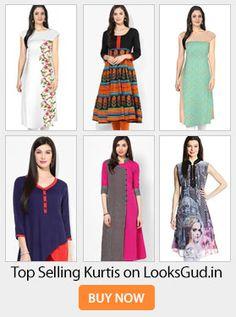 Buy Most selling kurtis on LooksGud