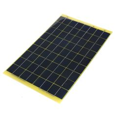 10W 12V Epoxy Resin Poly Solar Panel With Diode For Charge 12V Battery