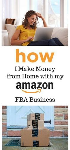 Learn how I easily set up my Amazon FBA business and started to make money from home