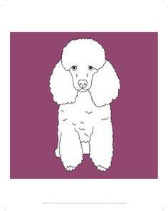 #Poodle #purple #dogs #dog #mug #keyring #teatowel #print #poster #magnet #greeting #card #postcard #ipad #case #phone #sock #gift #line #drawing #art #wholesale #pets #animals www.stareditions.com