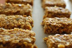 nut-free pumpkin spice bars