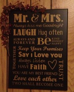 Country Decor- Would love to have this for my house one day! - 6 Beautiful Wedding Gift Ideas for Christian Couples Best Friend Love, Friends In Love, Say I Love You, My Love, Always Kiss Me Goodnight, Christian Couples, Do It Yourself Furniture, Family Rules, Just Dream