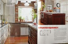 Beautifully featured in Better Homes and Gardens Kitchen + Bath Ideas magazine, summer 2013.