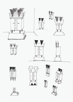 81 - Skizzen - Schränkchen