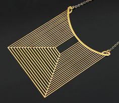 Jacques Esterel 70's Necklace - Paris Modernist