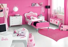 Image detail for -Romantic Teen Room Designs Decor / Designs Ideas and Photos of House ...the Barbie thing is pretty cool haha