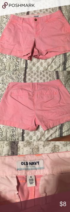 Old Navy Shorts Old Navy Shorts. Size 4. Pinkish color. Good condition. Old Navy Shorts