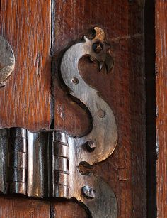 Ancient Hinge, Red Lodge, Bristol by archidave, via Flickr