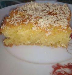 Αφράτο, ζουμερό και λαχταριστό ραβανί νηστίσιμο (αλάδωτο) Vanilla Cake, Pudding, Desserts, Food, Tailgate Desserts, Deserts, Eten, Puddings, Postres