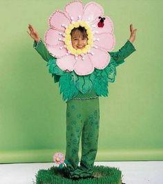 140 Best Flower Costumes Images Flower Costume Paper Engineering