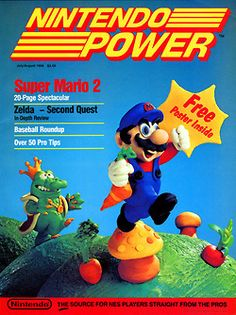 The first ever Nintendo Power