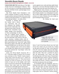 STONELICK in Rock and Ice Mag! Boom Royale recognition! www.stonelickclimbing.com #bouldering #climbing #rockclimbing #crashpads
