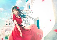 Tagged with anime, fanart, animegirl; Anime Fanart Collection HD Vol. Black Hair Anime Girl, Anime Girl Dress, Pretty Anime Girl, Beautiful Anime Girl, Anime Girls, Anime Art Girl, Manga Girl, Manga Kawaii, Kawaii Anime Girl
