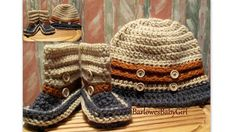 Hey, I found this really awesome Etsy listing at https://www.etsy.com/listing/122074288/buggs-crochet-boys-button-up-bucket-hat