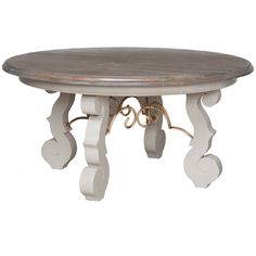 Cottage Scroll Round Table