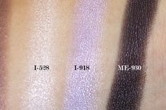 Make Up For Ever Floral Volume 3 Artist Palette Review & Swatches: I-528, I-918, ME-930
